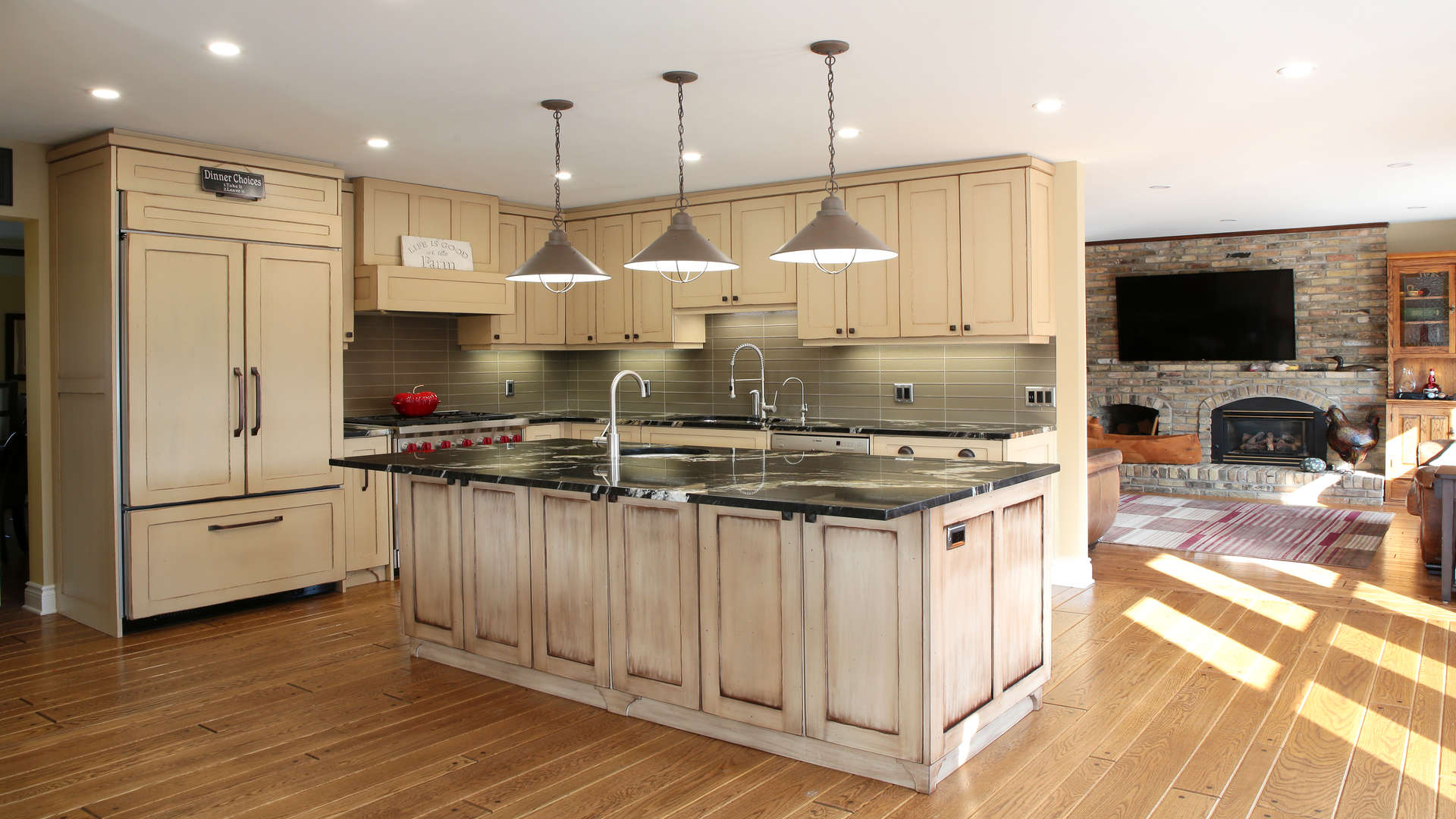 Custom Traditional Style Kitchen and Residential Interior Millwork and Volume Cabinetry Projects
